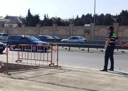 """Yol polisi: """"Bakı-Sumqayıt yolunda hərəkət məhdudlaşdırılıb"""" - FOTO"""