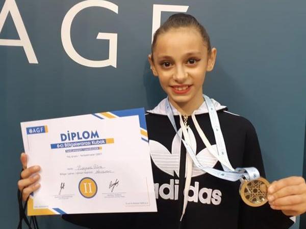 Azərbaycan gimnastı: Tamaşaçılar tərəfindən dəstəyi görmək çox xoşdur