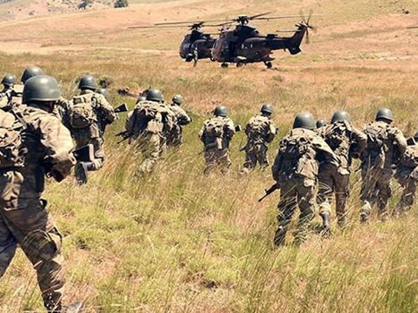 Suriyada 525 PKK terrorçusu məhv edldi