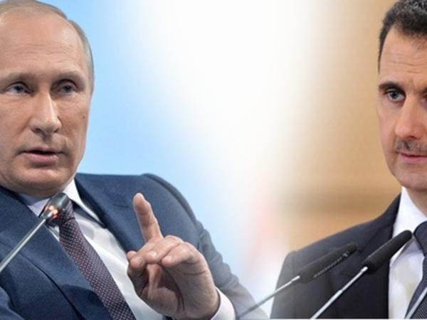 """""""Əsəd istəməsə Rusiya Suriyadan çıxacaq"""" - <span class=""""color_red"""">Putin Türkiyəyə dolayısı ilə etiraz etdi - FOTO</span>"""
