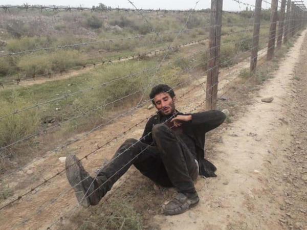 İran-Azərbaycan sərhədində insident: 1 sərhədçi bıçaqlandı - FOTO
