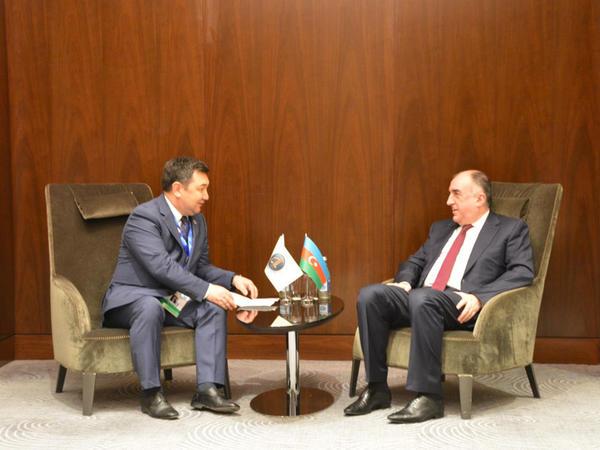 Elmar Məmmədyarov Türk Akademiyasının Prezidenti ilə görüşüb - FOTO