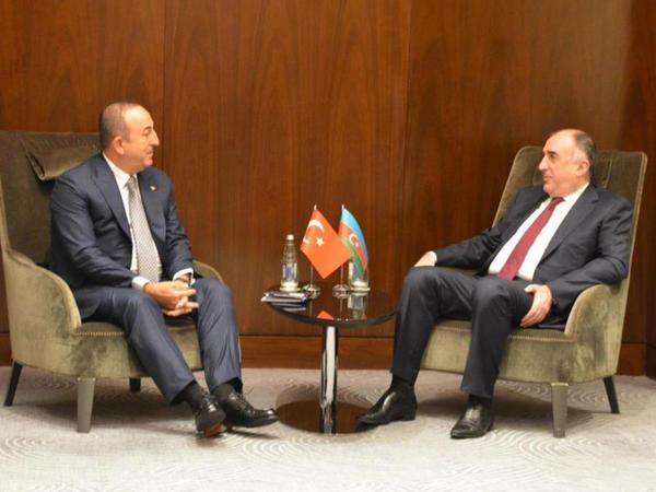 Elmar Məmmədyarov Mövlud Çavuşoğlu ilə görüşüb - FOTO