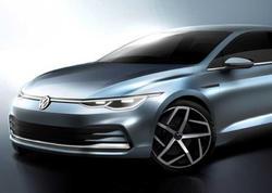 Volkswagen yeni Golf modelinin eskizlərini dərc edib - FOTO