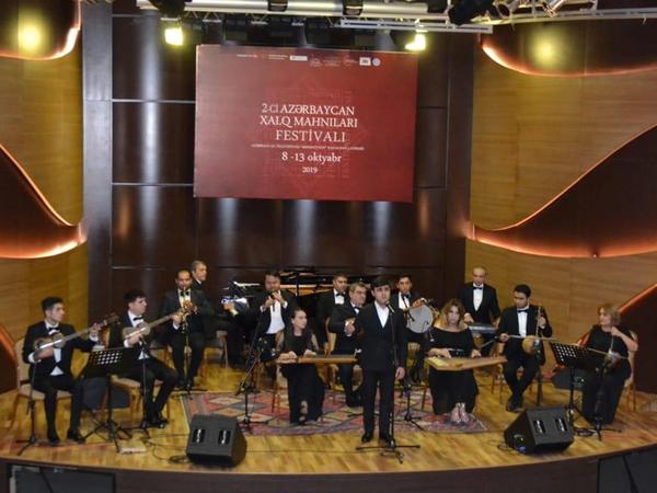 """Beynəlxalq Muğam Mərkəzində """"II Azərbaycan Xalq Mahnıları Festivalı"""" sona çatıb - FOTO"""