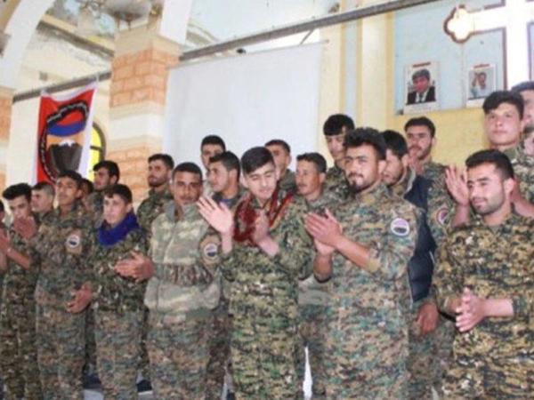 Erməni batalyonu Türkiyəyə qarşı döyüşə yollandı