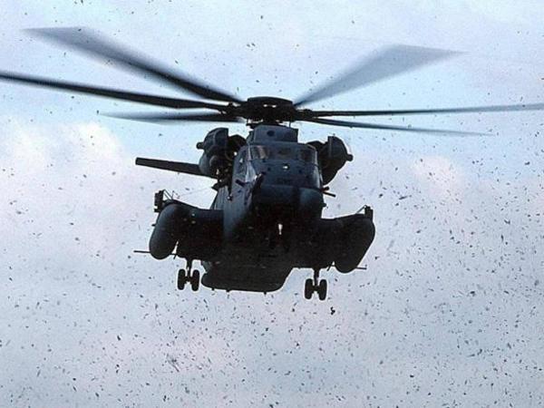 Hərbi helikopter qəzaya uğradı