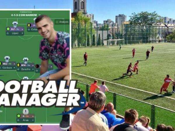 """""""Football Manager""""də komandasını ÇL yarımfinalına yüksəltdi, klubdan iş təklifi aldı"""