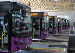 Bakıya gətirilən yeni avtobuslar ilin sonuna qədər istifadəyə veriləcək