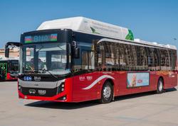 Bakıya gətirilən yeni avtobuslar ilin sonuna qədər istifadəyə veriləcək - FOTO
