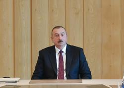 Prezident İlham Əliyev: Ümumdünya İqtisadi Forumunun hesabatı bir daha onu göstərir ki, Azərbaycanda aparılan islahatlar ardıcıl xarakter daşıyır