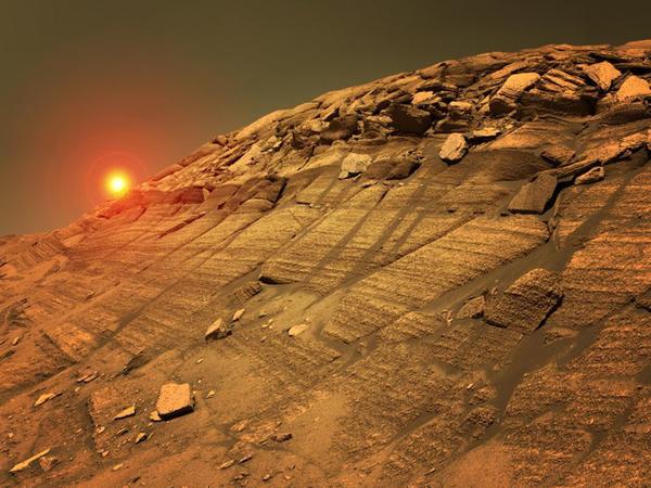 Marsda həyat izləri 40 il əvvəl tapılıb?