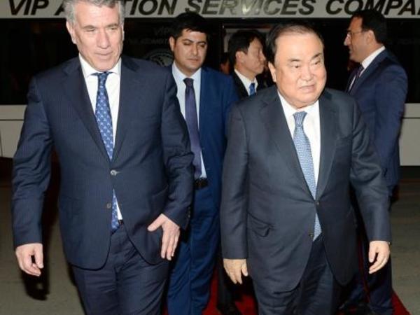 Koreya Respublikası Milli Assambleyasının sədri Azərbaycana rəsmi səfərə gəlib