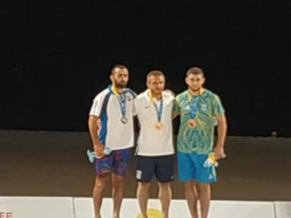 Güləşçilərimiz Dünya Çimərlik Oyunlarında iki medal qazanıb - FOTO