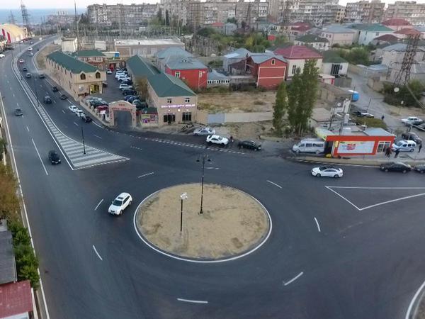 Bakıda daha bir küçə yenidən qurulub - FOTO