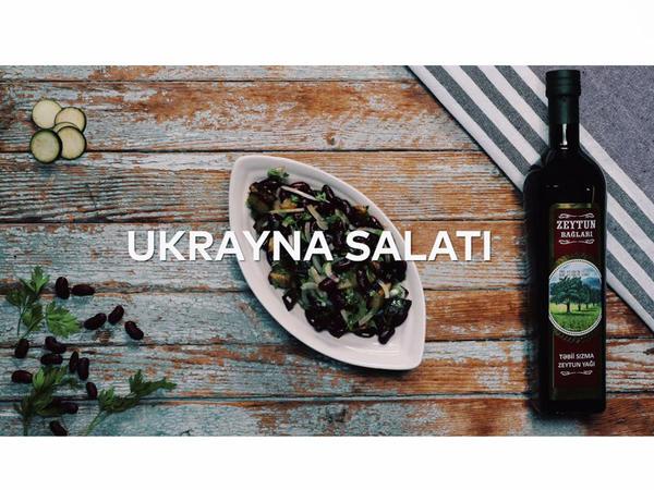 Zeytun yağlı Ukrayna salatı - VIDEO