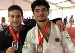 Azərbaycanın iki gənc cüdoçusu dünya birinciliyində medal qazanıb - FOTO