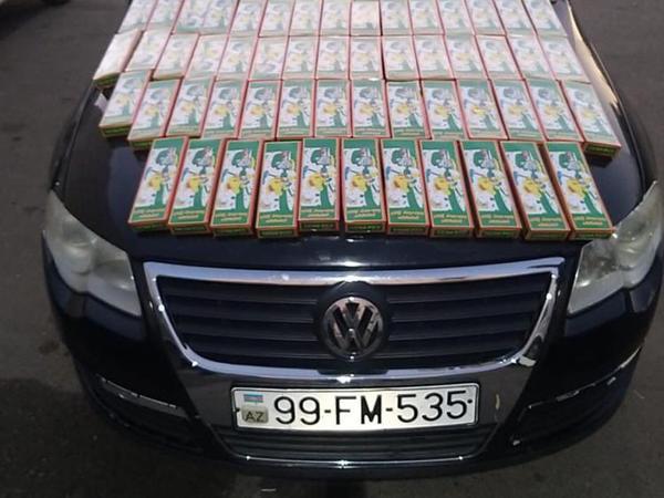 Gürcüstandan qanunsuz yolla gətirilən pirotexniki vasitələr aşkarlandı - FOTO