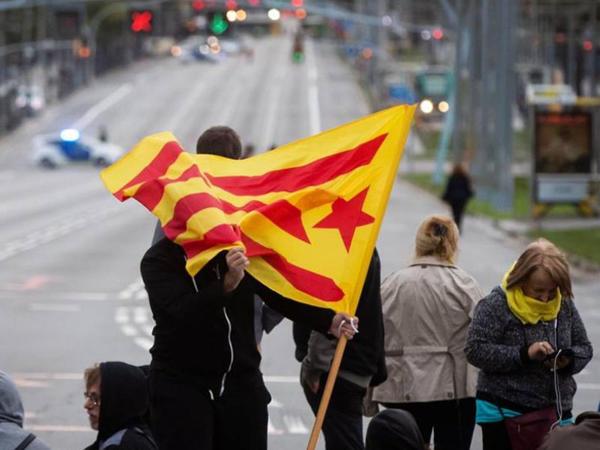 Kataloniyada tətillər davam edir