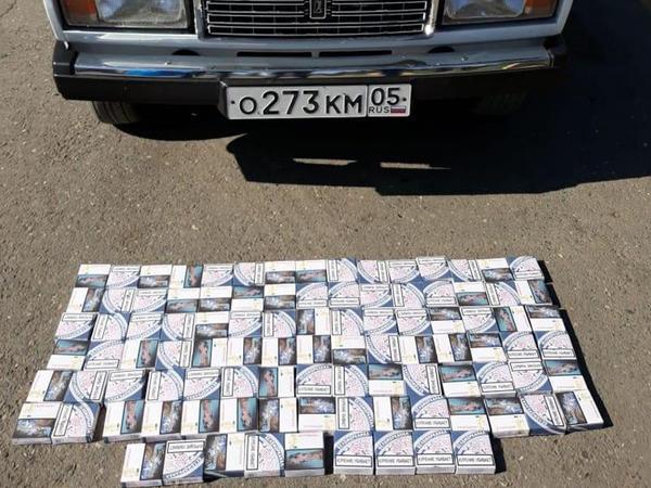 Rusiyadan Azərbaycana qanunsuz yolla gətirilən papiroslar aşkarlandı - FOTO