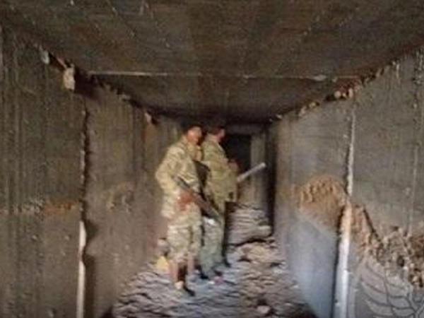 Türk ordusu terrorçulara aid tunellər sistemini aşkarladı