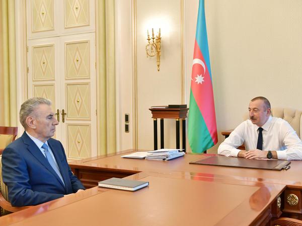Prezident İlham Əliyev: Sizin istefanız iqtidar komandasında təmsil olunan digər yoldaşlara da yaxşı bir örnək olacaqdır