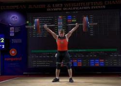 Azərbaycan ağırlıqqaldıranı Avropa rekordu müəyyənləşdirdi