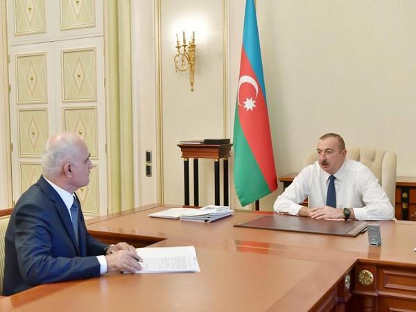 Prezident İlham Əliyev: Məşğulluğu, artan əhalini işlə təmin etmək üçün şərait yaradılmalıdır