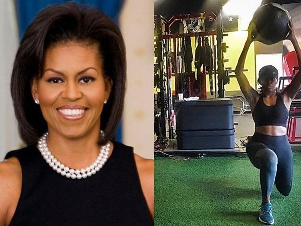 """Mişel Obama fitnes salonunda - <span class=""""color_red"""">FOTO</span>"""