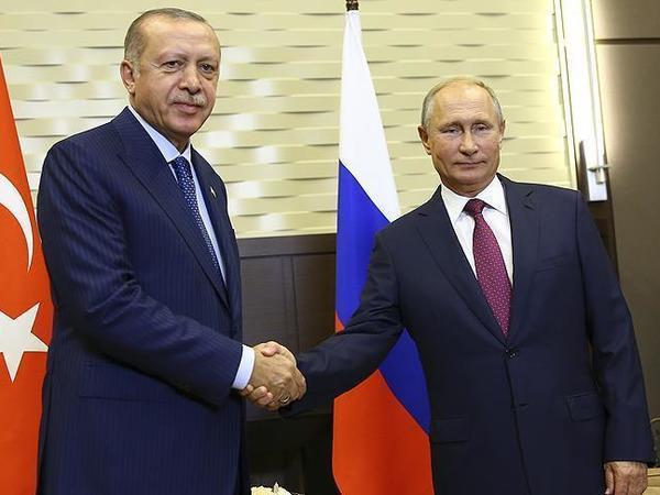 """Ərdoğan və Putin arasında görüş başladı - <span class=""""color_red"""">Soçidə </span>"""