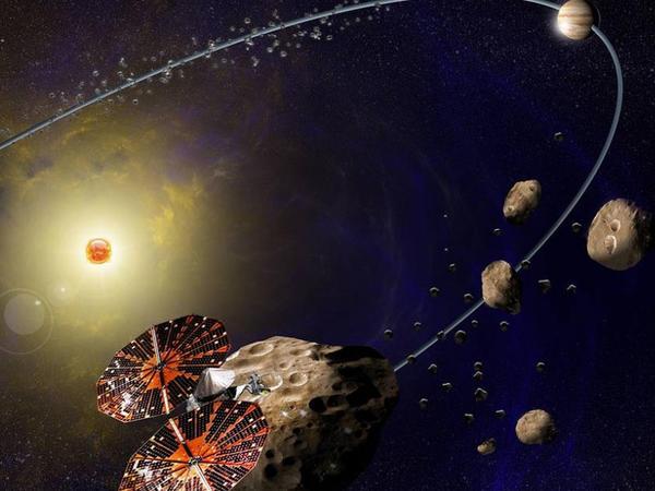 """NASA """"troyalı asteroidləri"""" öyrənmək üçün kosmosda stansiya yerləşdirəcək"""