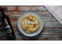 Zeytun yağı ilə hazırlanmış Humus