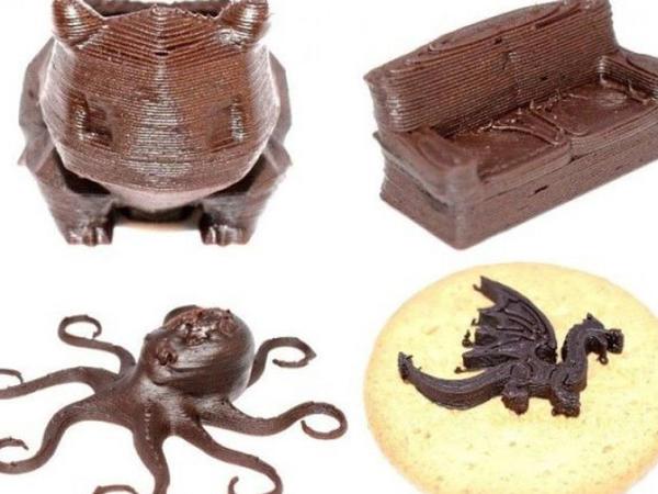 Sinqapurda 3D printerdə şokolad-konfetlər çap edilib