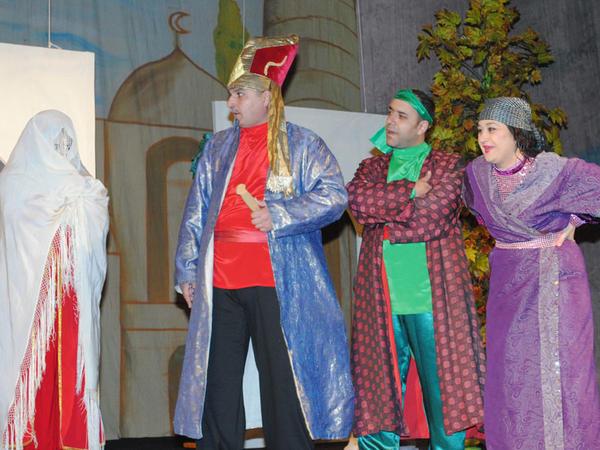 Həftəsonu Sumqayıt Dövlət Dram Teatrında 6 tamaşa nümayiş olunacaq...