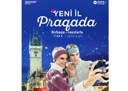 """Bakıdan Praqaya birbaşa reys: """"Silk Way Travel"""" və """"PAŞA Holidays""""dən Yeni il təklifi!"""