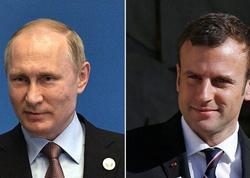 Putin Makronla Soçidə Ərdoğanla danışıqların məzmunu haqqında danışdı
