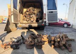 Avtomobil ehtiyat hissələrini qanunsuz yolla keçirən Gürcüstan vətəndaşı saxlanıldı