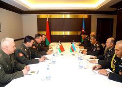 Azərbaycan və Belarus müdafiə nazirlikləri ikitərəfli əməkdaşlıq Planı imzalayıb - FOTO