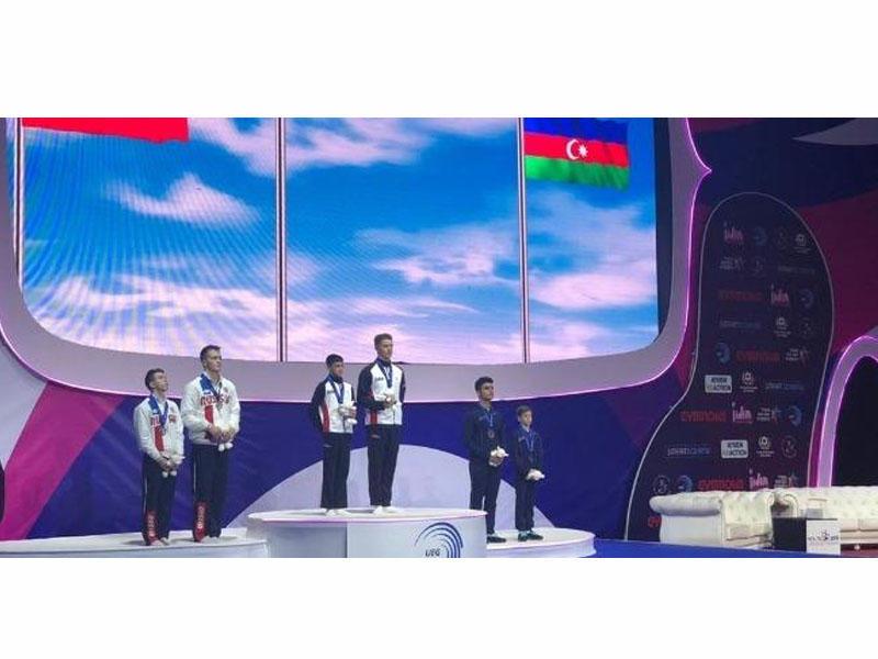 Gimnastlarımız Avropa çempionatında bürünc medal qazandı