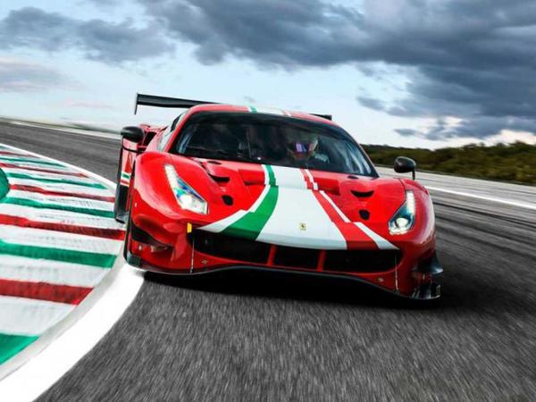 Ferrari 488 modelinin yarış versiyaları yenilənib - FOTO