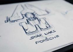 """Porsche """"Ulduz müharibələri"""" üçün gəmi hazırlayacaq - FOTO"""