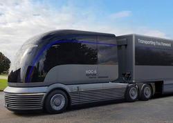 Hyundai hidrogenlə işləyən yük maşınını təqdim etdi