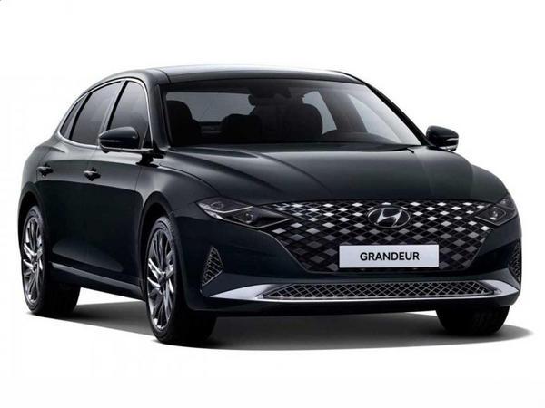 Yenilənmiş Hyundai Grandeur hibrid aqreqatına sahib olacaq - FOTO