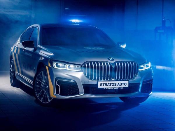 Çex polisi BMW 745Le xDrive sedanlarını seçdi - FOTO