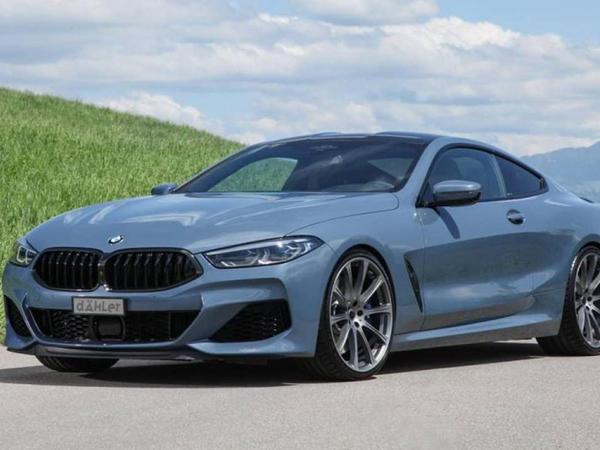 Dahler BMW M850i modelini M8 kupesindən güclü edib - FOTO