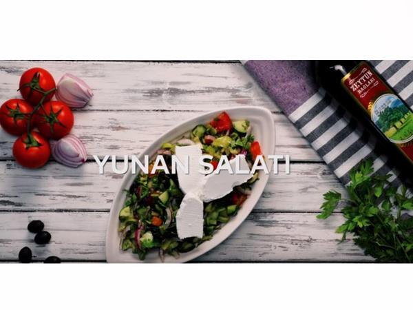 """""""Zeytun Bağları"""" ilə hazırlanmış Yunan salatı - VİDEO"""