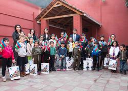 AtaBank Bayraq Günündə sığınacaqdakı uşaqlarla görüşdü