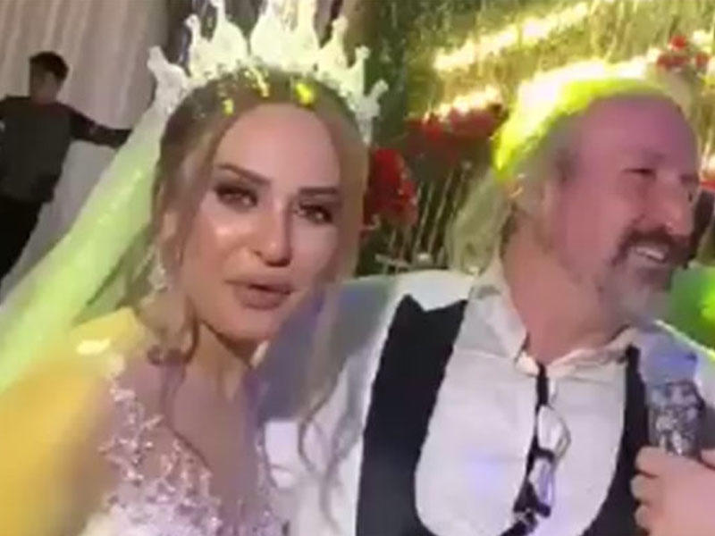 Türkiyəli aparıcı Bakıda evləndi - VİDEO
