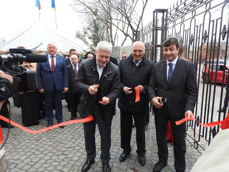Ukraynada Azərbaycanın ilk Mədəniyyət və İnformasiya Mərkəzinin açılışı olub - FOTO