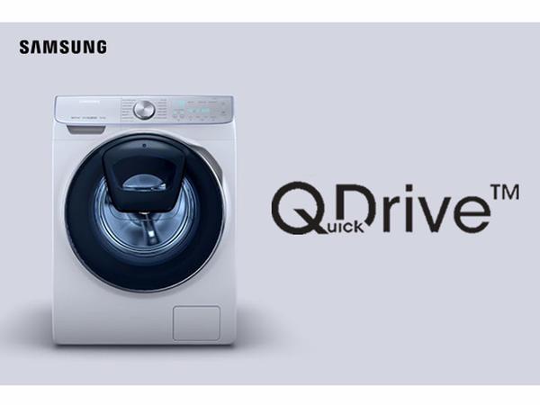 QuickDrive ™ texnologiyası ilə təchiz olunmuş Samsung Add Wash ilə zamanı paltar yumağa deyil, özünüzə sərf edin